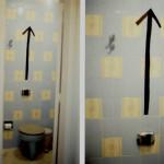 campo cego banheiro