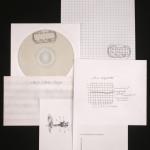 vista do CD com impressos